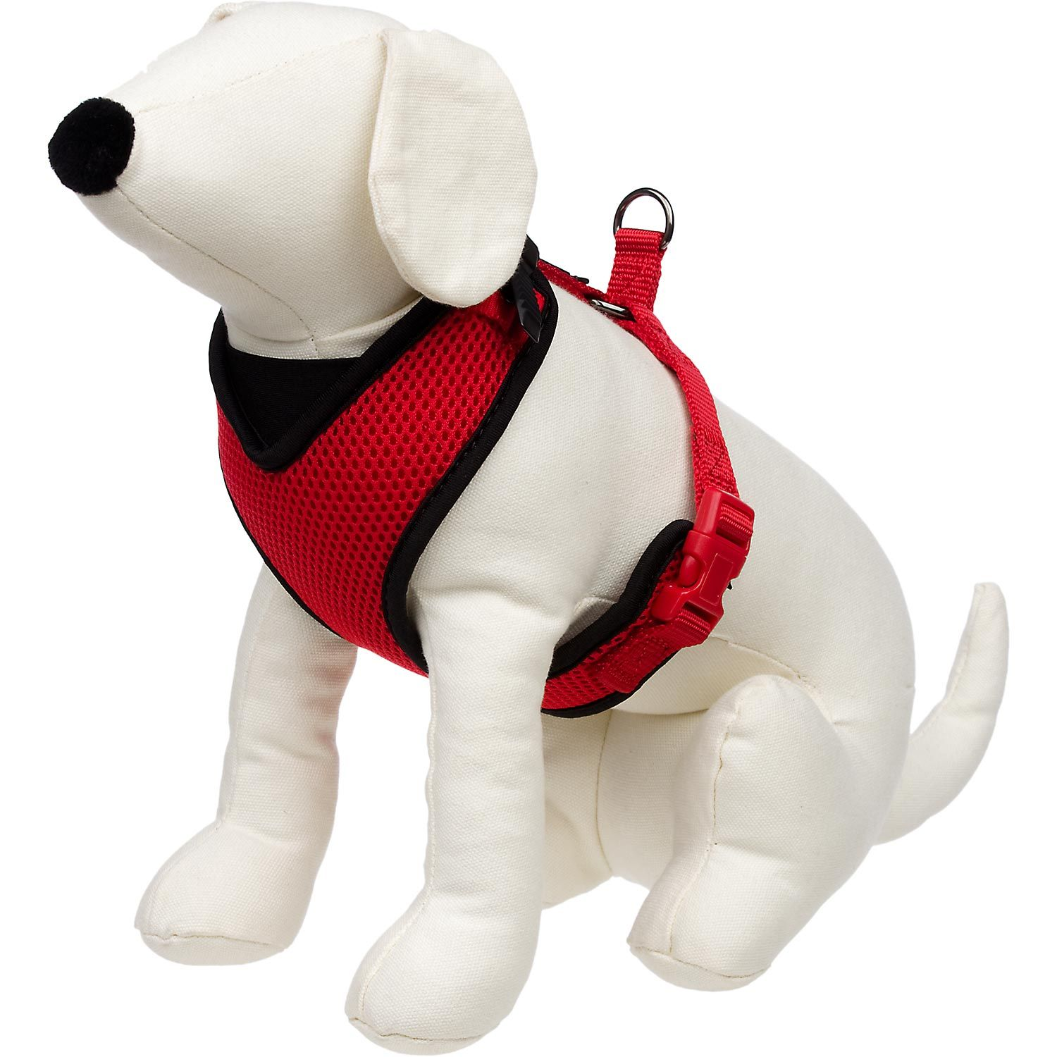 Petco Adjustable Mesh Harness For Dogs In Red Black Red Dog