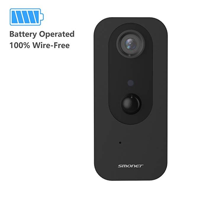 Security Camera Wireless, Battery Operated 100