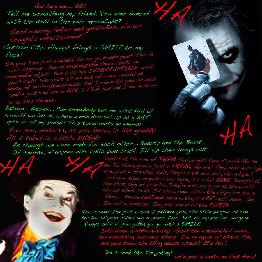 the joker quotes | Joker Quotes | The Joker | Pinterest ...