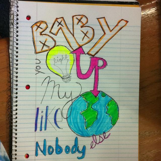 Baby you light up my world like nobody else!;D @Ebony Skinner