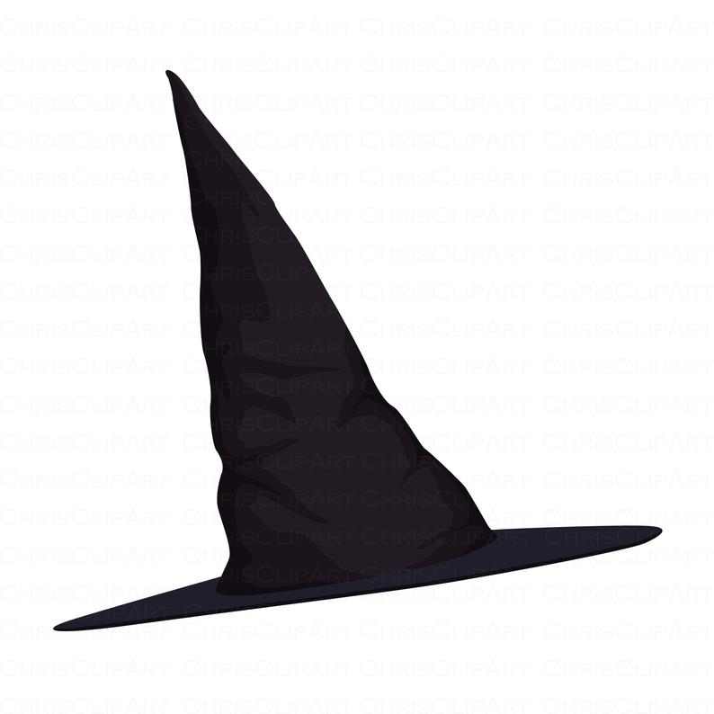 Witch Hat Svg Witch Hat Png Witch Clipart Halloween Clipart Etsy In 2021 Witch Clipart Halloween Clipart Black Witch Hat