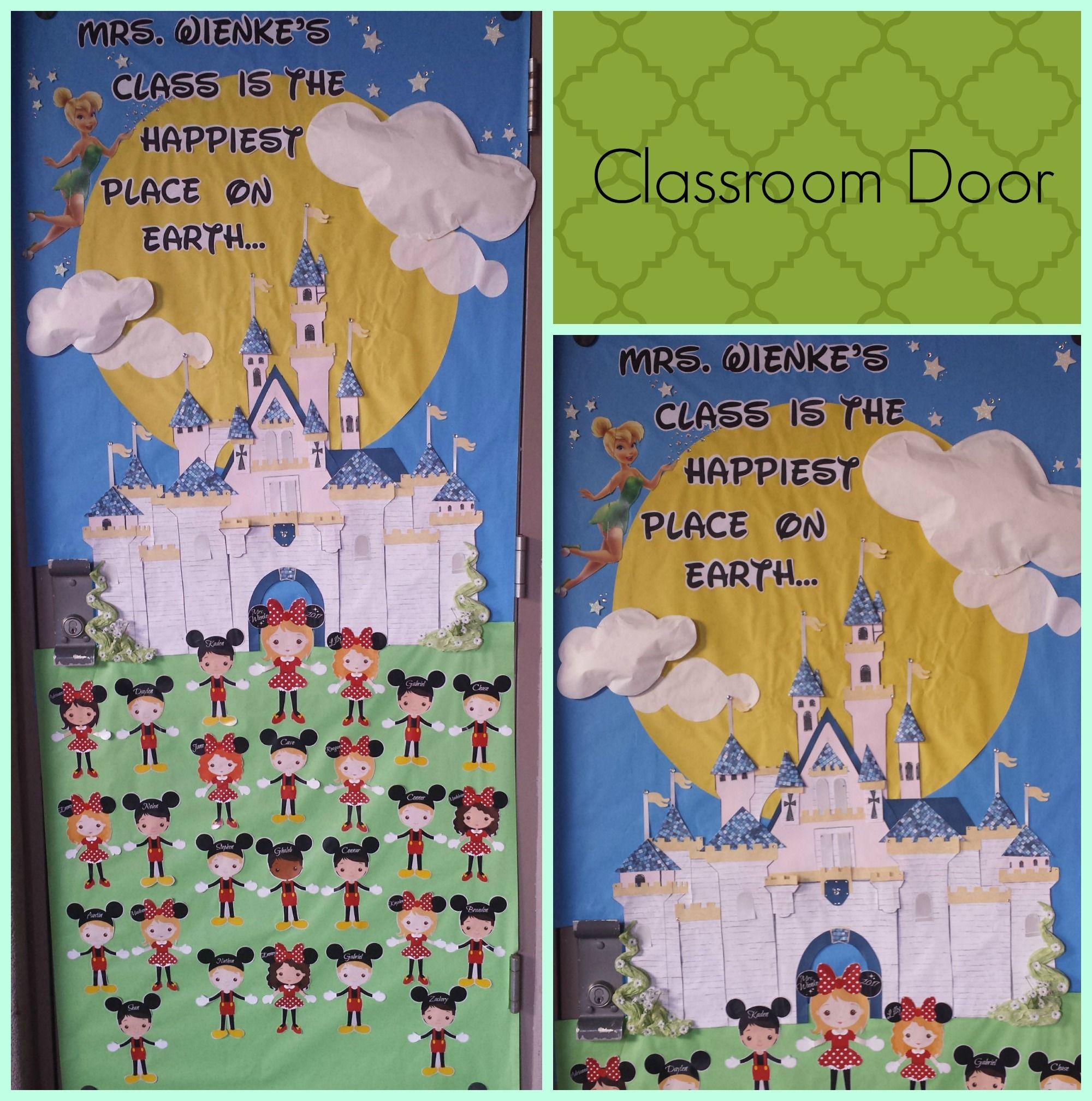 Disney classroom door... Disneyland Castle | classroom ...