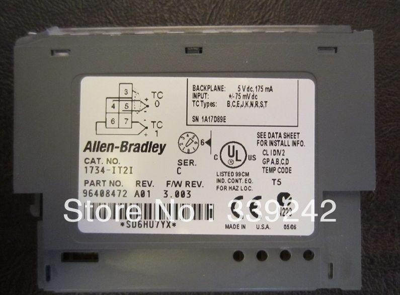 1734-IT2I INPUT MODULE 1734-IT2I   Electrical Equipment