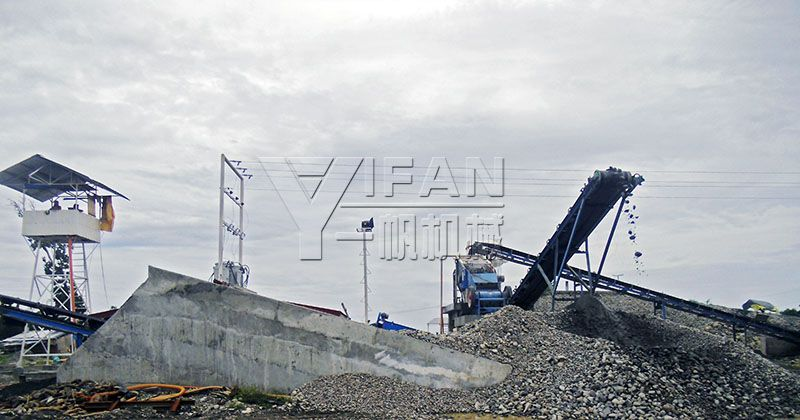 The Riverstone Aggregate Crushing Plants include: 3YKH1548