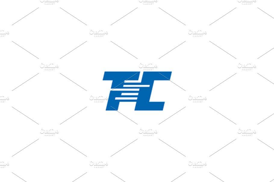 T And C Logo Logo Templates Creative Logo Fashion Typography