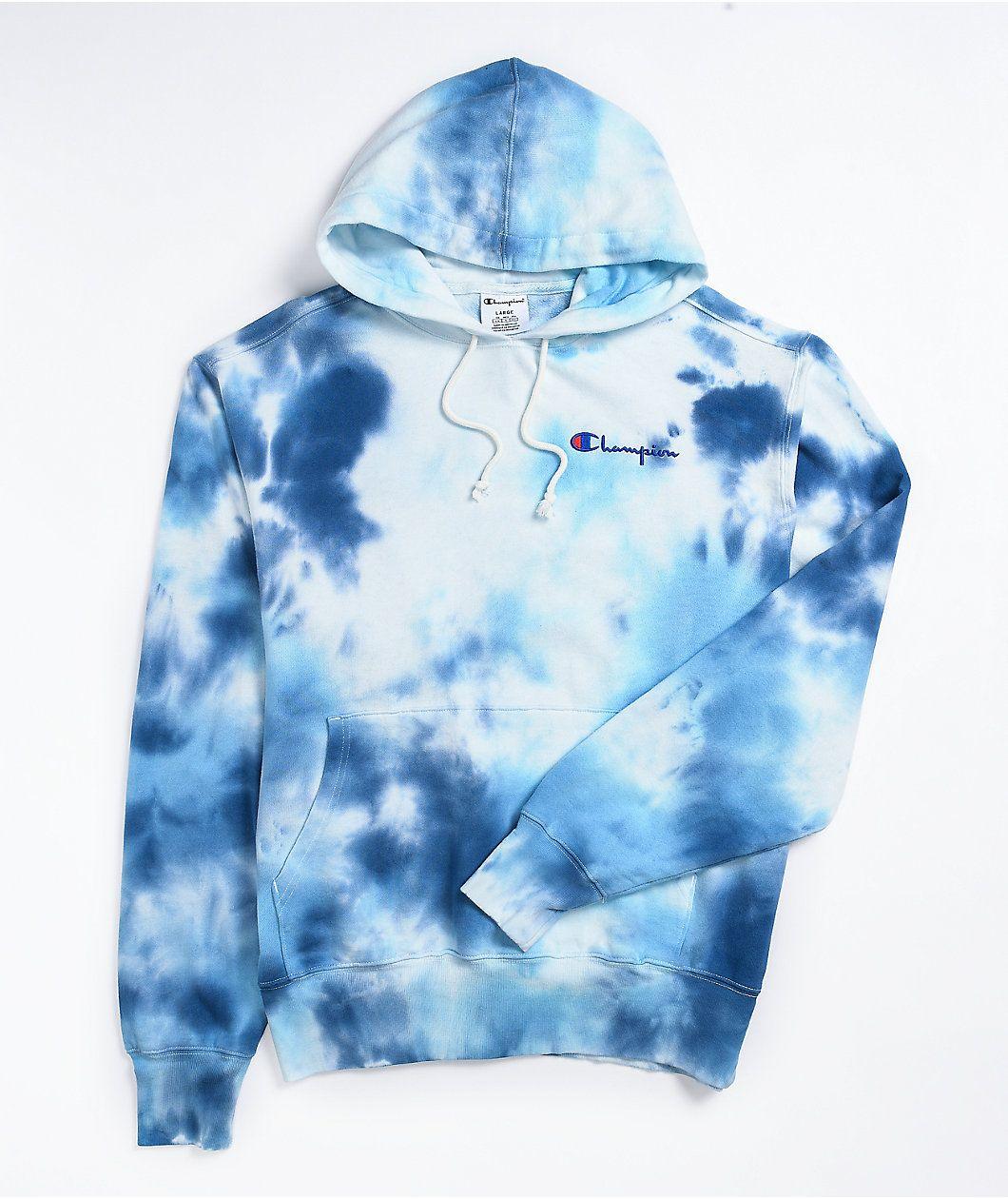 Champion Big Sky Blue Hoodie Zumiez Blue Hoodie Hoodie Zumiez Champion Sweatshirt [ 1260 x 1060 Pixel ]