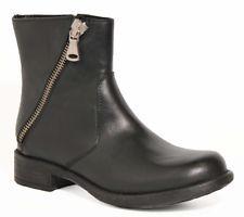 buy popular 1be75 d2de8 ITALIA DONNA OVYE Pelle Stivali motociclista scarpe ...