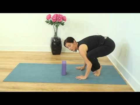 crow pose bakasana instruction with danielle diamond