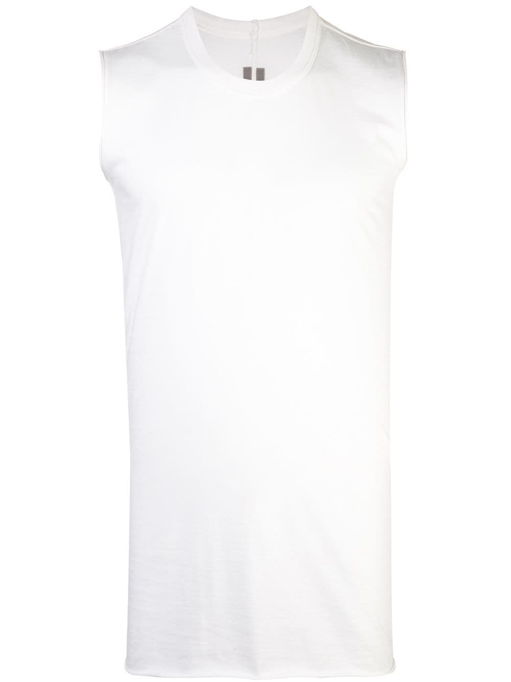 b924567286e23 RICK OWENS RICK OWENS FITTED TANK TOP - WHITE.  rickowens  cloth ...