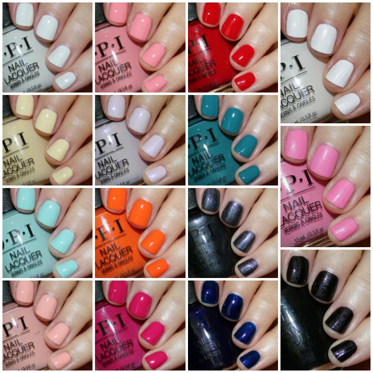 Opi Grease Collection Summer 2018 Opi Gel Nails Opi Nail Colors Summer Nails Colors
