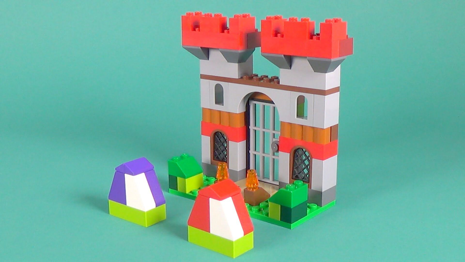 Lego Castle Building Instructions Lego Classic 10698 How To
