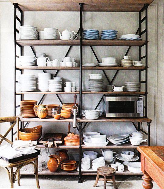 perfekt Küchen Pinterest Küche, Leben und Wohnen - regale für küche