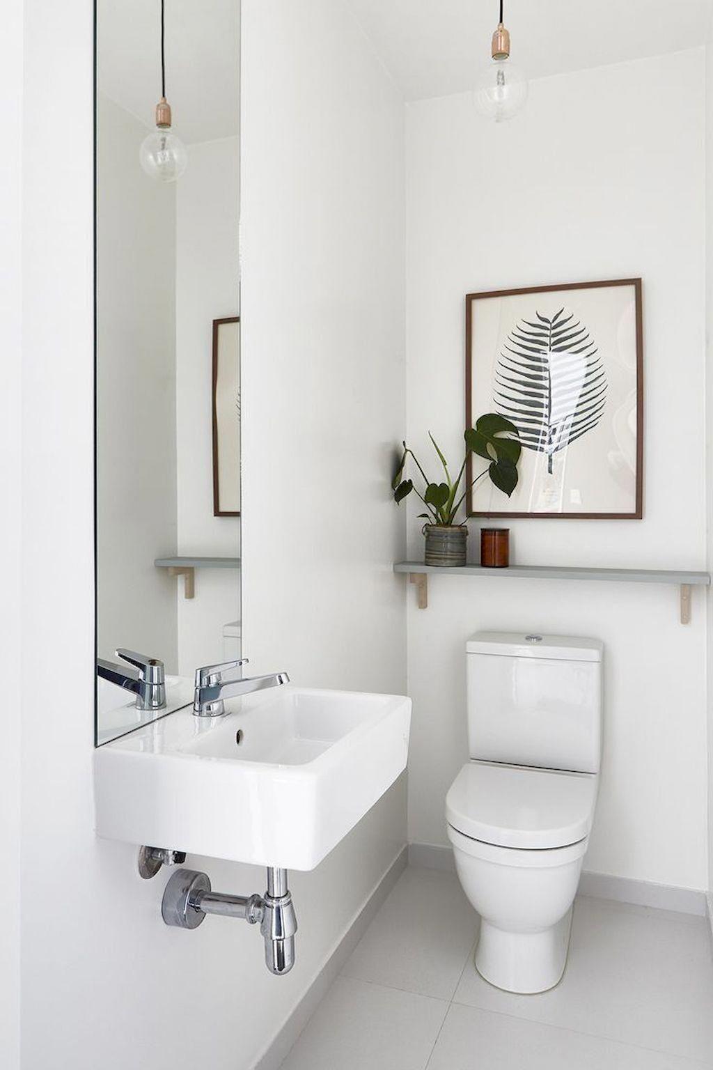 Bathroommakeover Small Toilet Room Half Bathroom Remodel Small Bathroom Remodel