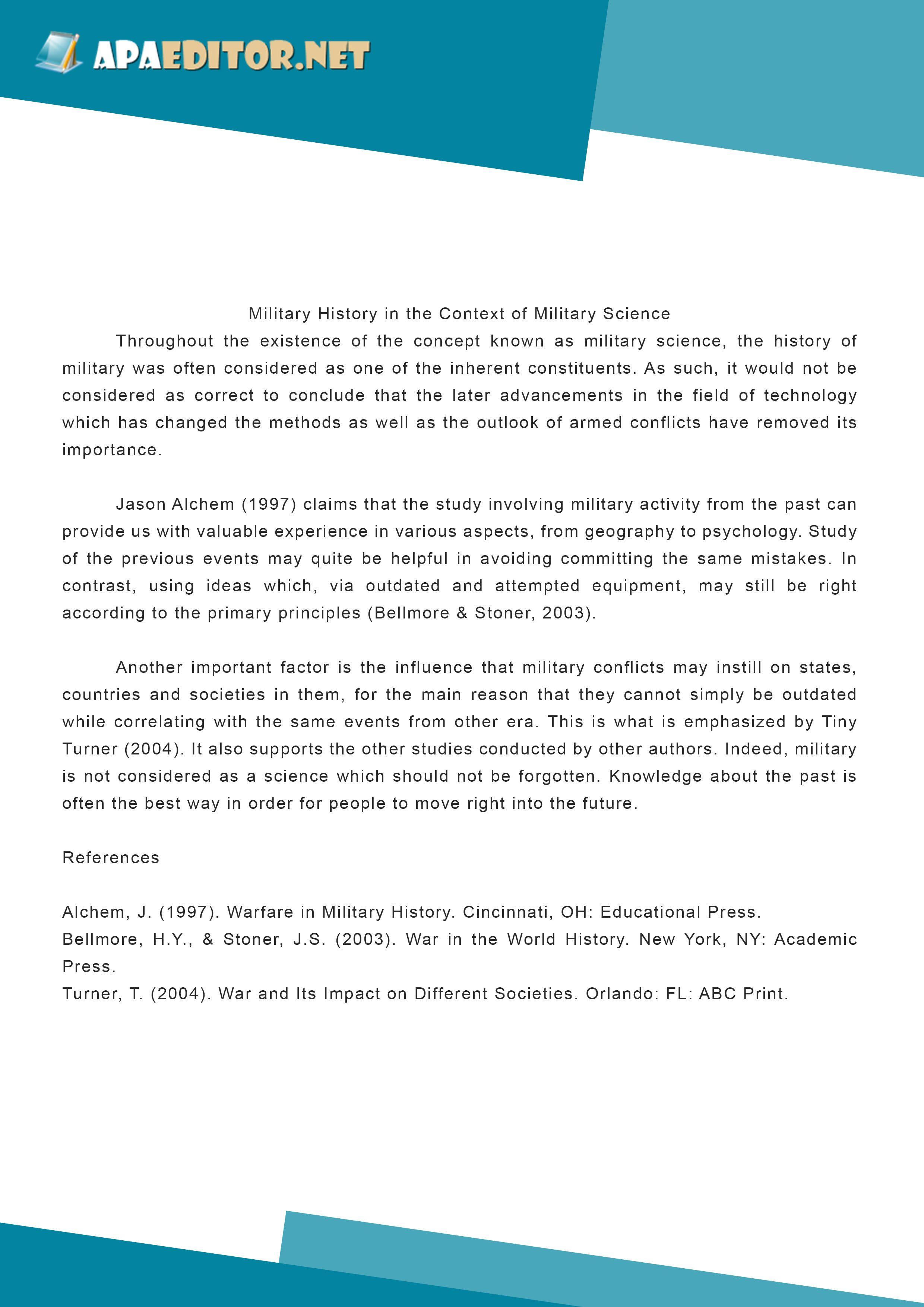 geography essay format