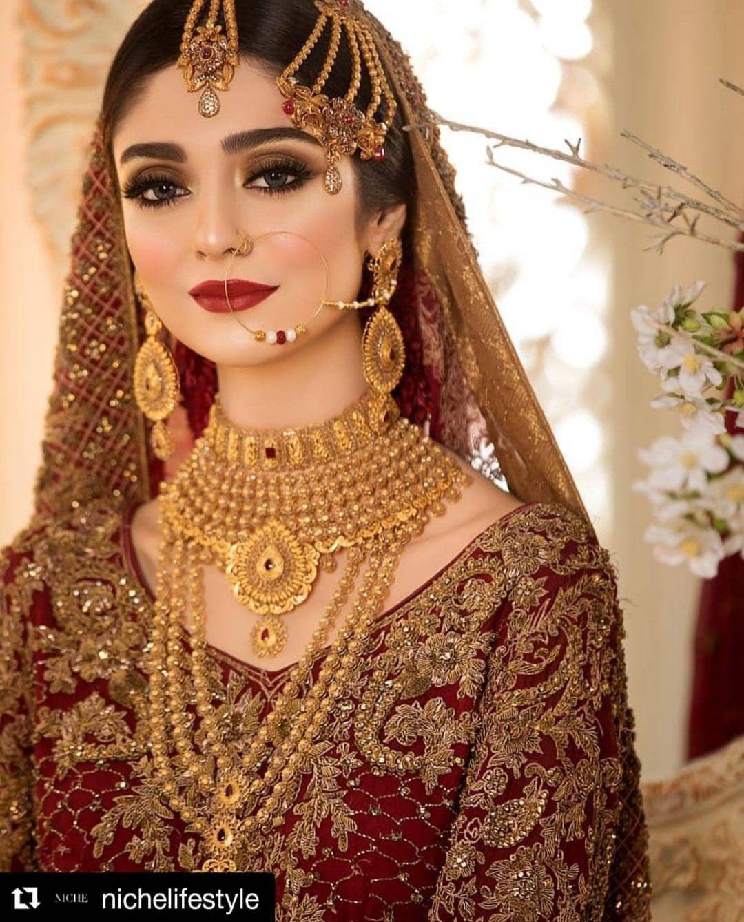 Alizay Pakistani Bridal Makeup Pakistani Bridal Jewelry Bridal Dresses Pakistan