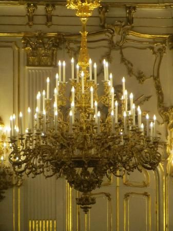 Chteau de schnbrunn chandelier in the ballroom danube chteau de schnbrunn chandelier in the ballroom mozeypictures Gallery