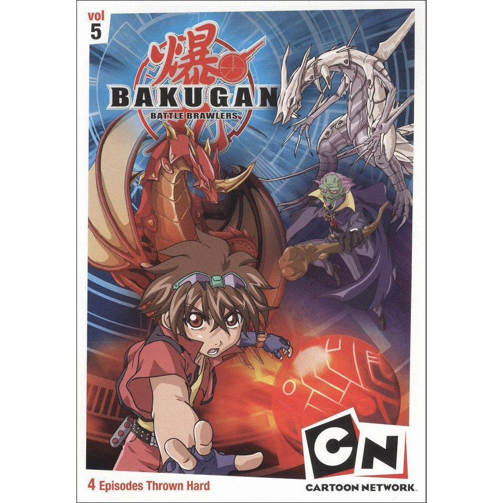 Bakugan Vol 5 The Game Is Real Dvd Video