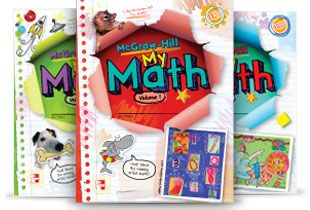My Math: McGraw Hill.  The newest entry into the 'math wars'.  Customized math books to meet state competencies and instructional level. (Unknown)