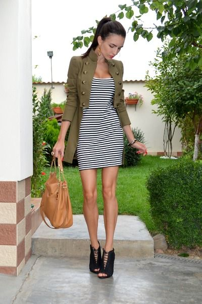 1000  images about How to wear the Military Jacket on Pinterest
