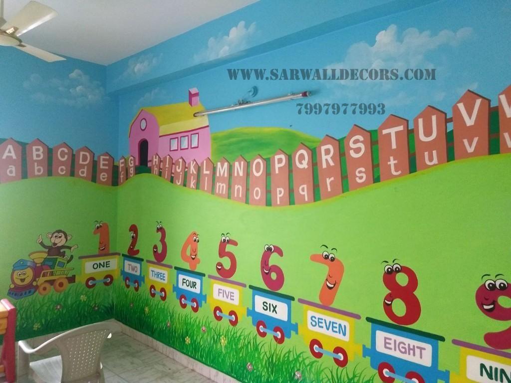 Pin By Jeanette Phillips On Jlovinjesus Kids School Wall Art School Wall Decoration Classroom Walls Paint