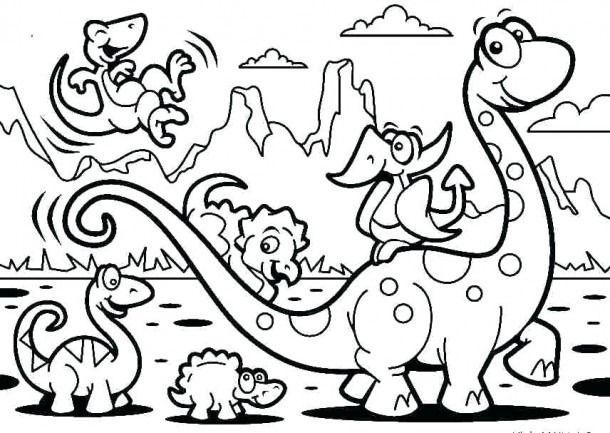 Dinosaur Coloring Pages Pdf Dinosaur Coloring Pages Preschool Coloring Pages Coloring Pages Inspirational