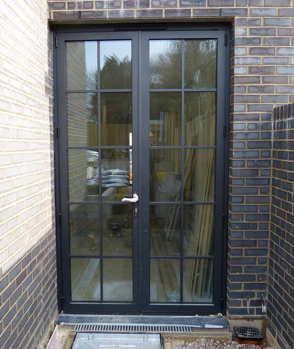 Aluminium crittall replacement doors london surrey for Looking for french doors