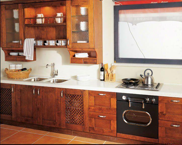 Cocina madera
