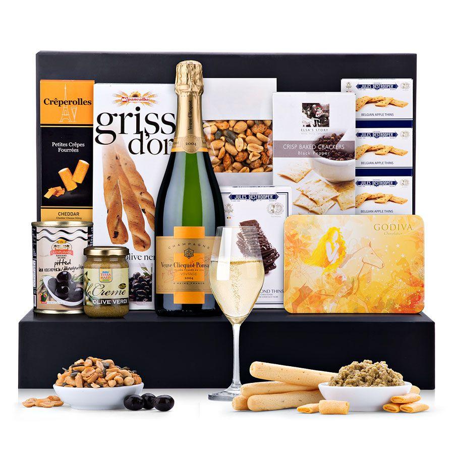 Ultimate Gourmet Veuve Clicquot Vintage | Gourmet food gifts ...