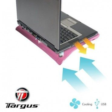 Targus Pink Notebook Cooling Chill Mat In Pink Laptop Cooling