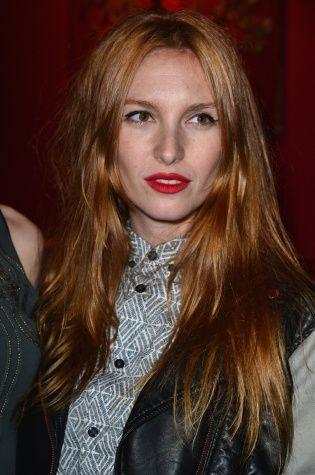 Josephine de la Baume - strawberry blonde hair