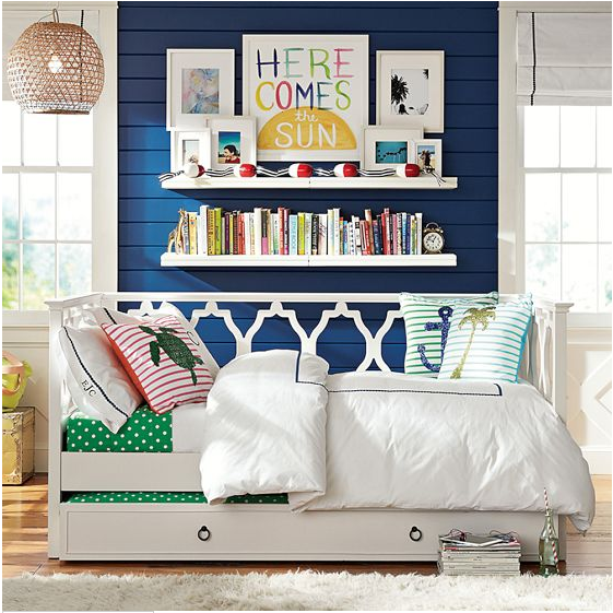 Elsie Daybed & Trundle Girls bedroom furniture, Girls