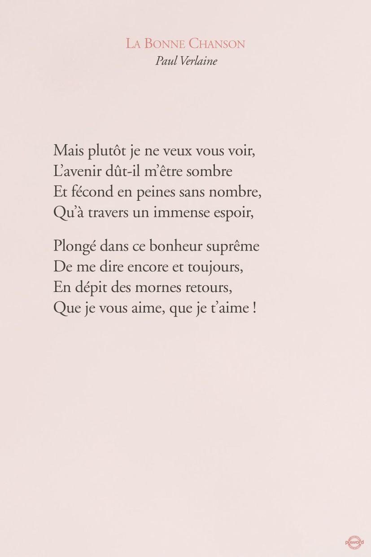 Citations Pixword Verlaine Paulverlaine Labonnechanson Love Amour Literature Text French Poeme Et Citation Texte Citation Proverbes Et Citations