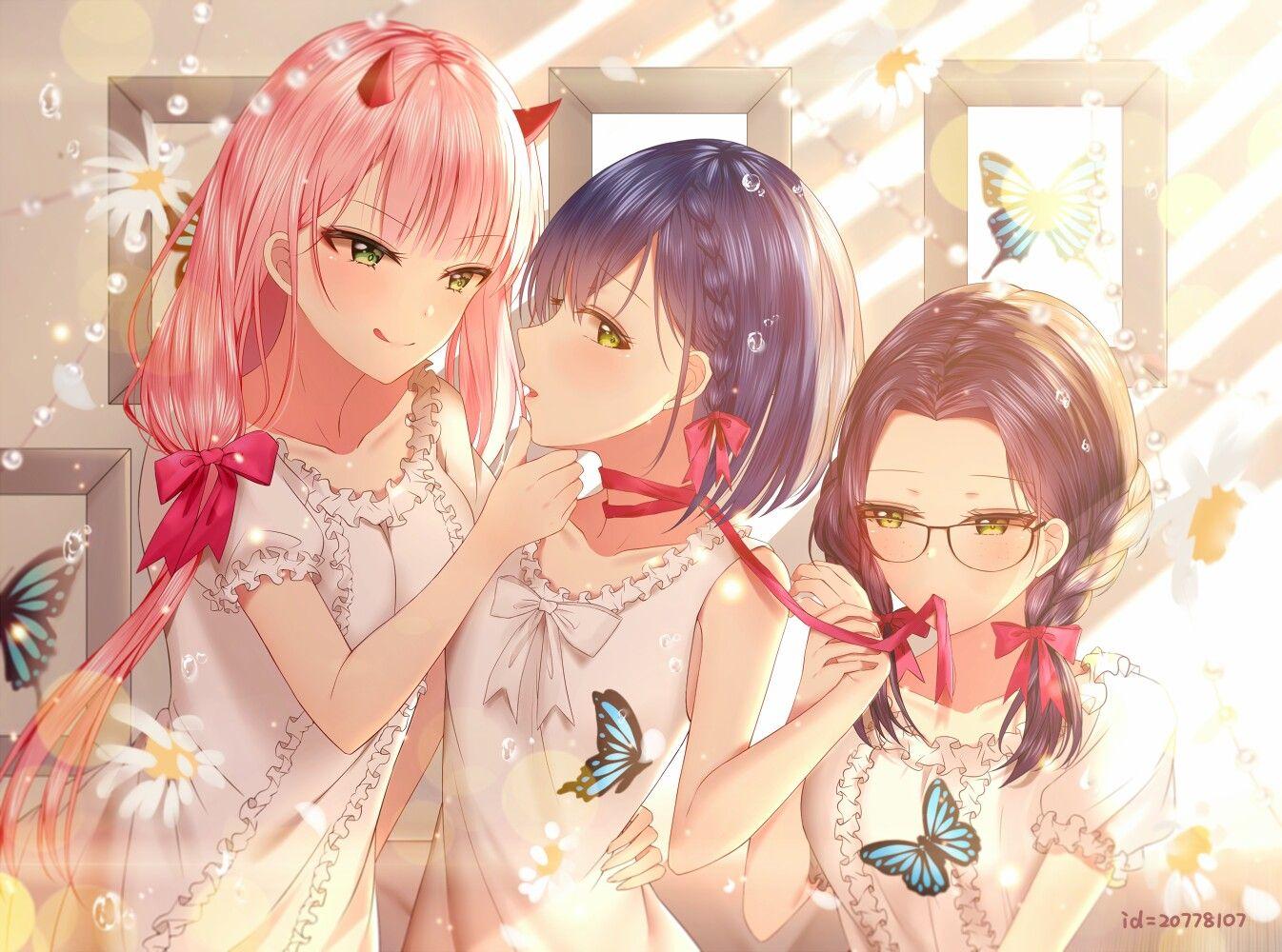 Zero Two, Ichigo, Ikuno Anime, Nghệ thuật, Nghệ thuật anime