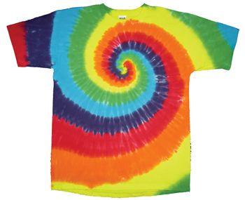 Rainbow Spiral Tie-Dye