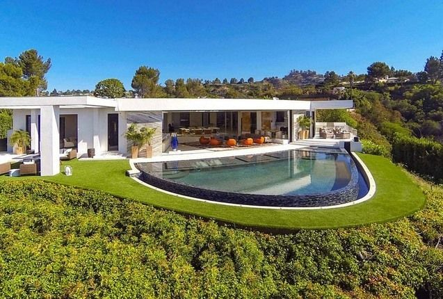 agreeable beautiful homes in california. House Panorama extraordinaire sur Los Angeles pour cette maison