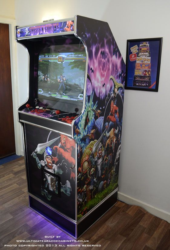 Ghosts & Goblins Arcade Cabinet - Custom Machine by Ultimate ...