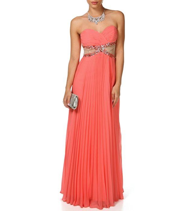 Alisha-Coral Prom Dress   All dolled up!   Pinterest