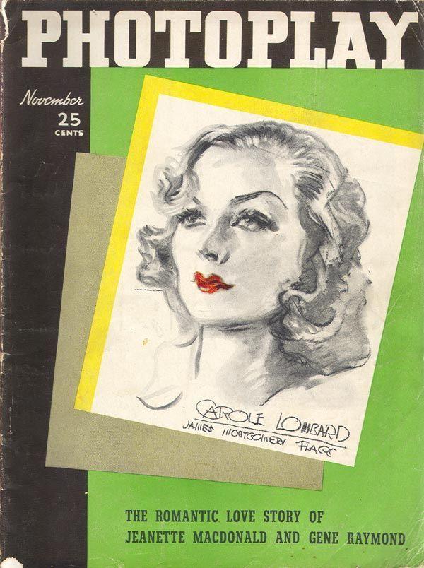 Carole Lombard - Nov. 1936