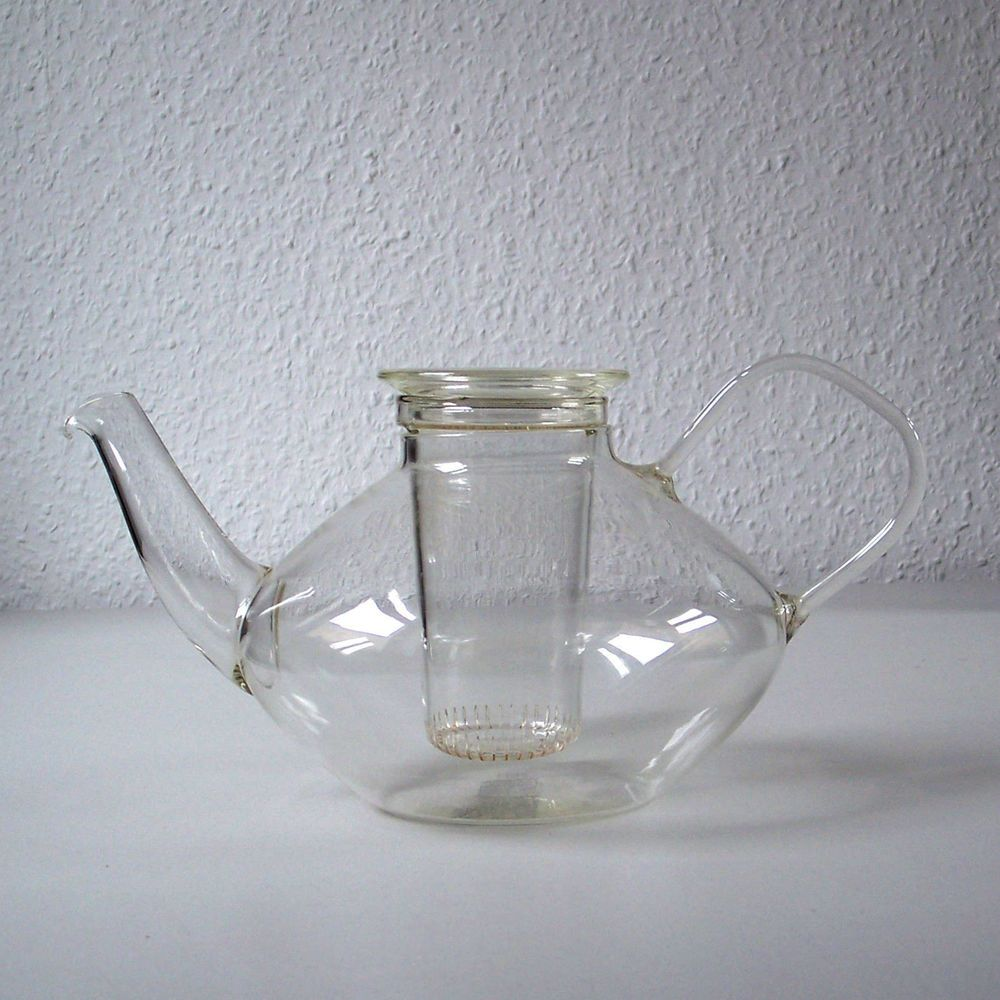 1L Teekanne SCHOTT & GEN. JENAer Glas Entw. Heinrich Löffelhardt in ...