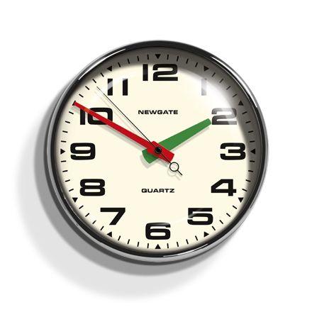 Brixton Wall Clock Newgate Clocks Newgate Clocks Wall Clock Retro Wall Clock