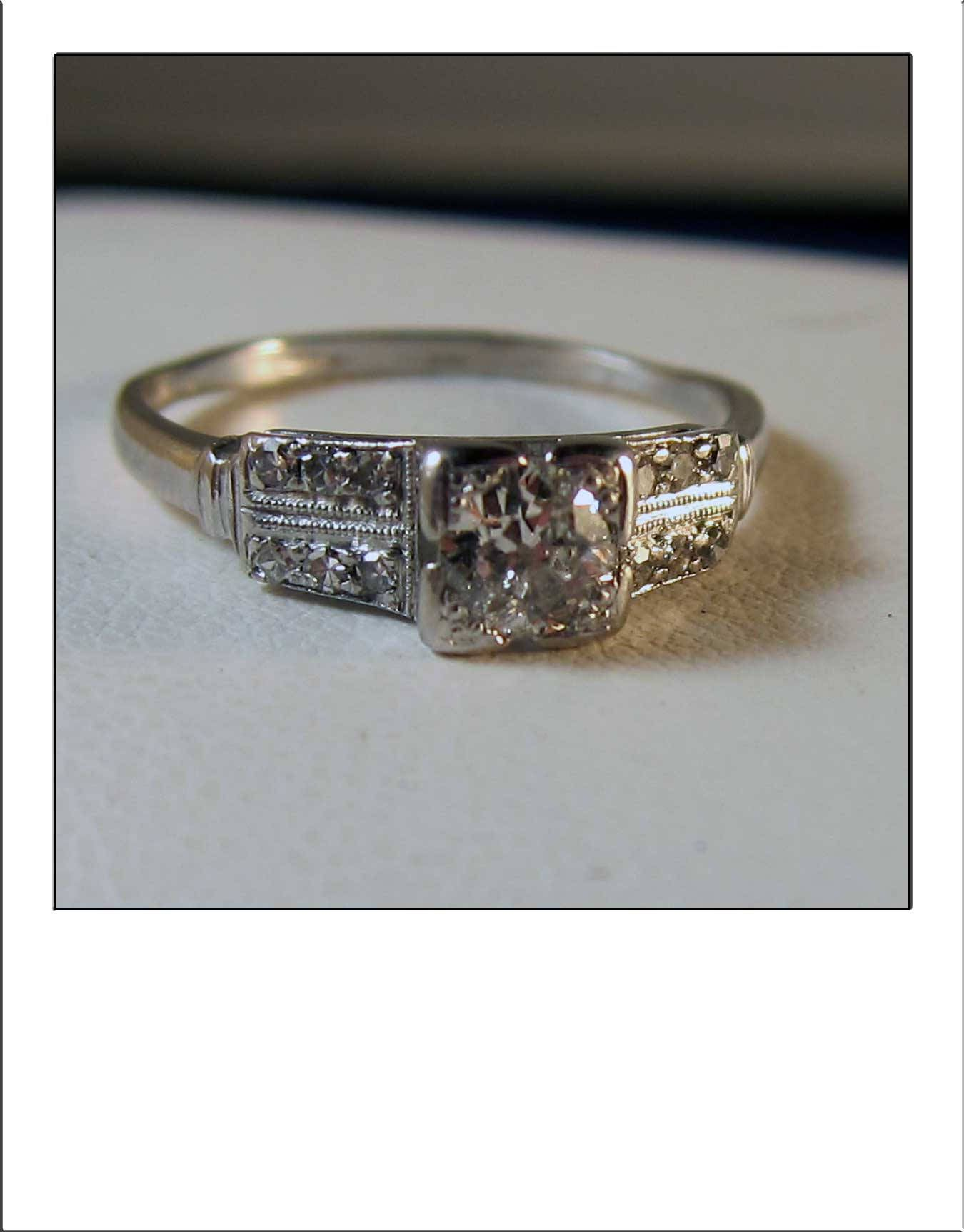 engagement size ring jewelers rings thomas old mine eng gold cut in white diamond vintage
