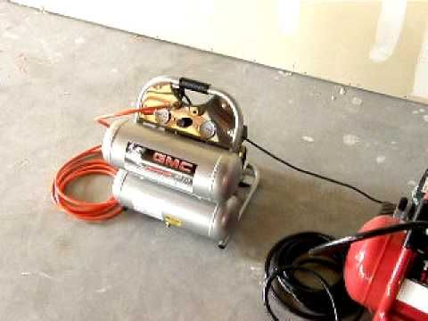 Gmc Syclone 4610 Ultra Quiet Air Compressor Comparison Avi Quiet