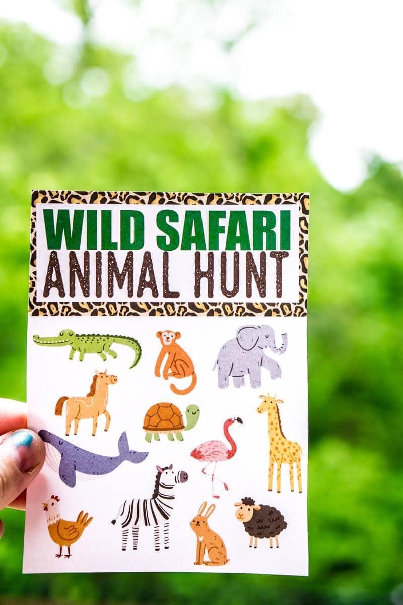 Fun Animal Scavenger Hunt Ideas Guaranteed to Make Kids