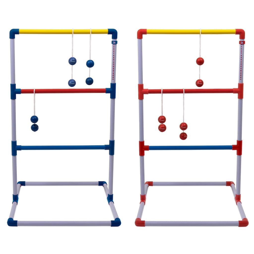 Golf Balls Ladder Ball Toss Game For Adults Kids Family Fun Golf Game Set With Six Colored Bolos Sco Ladder Ball Golf Games For Kids Ladder Toss