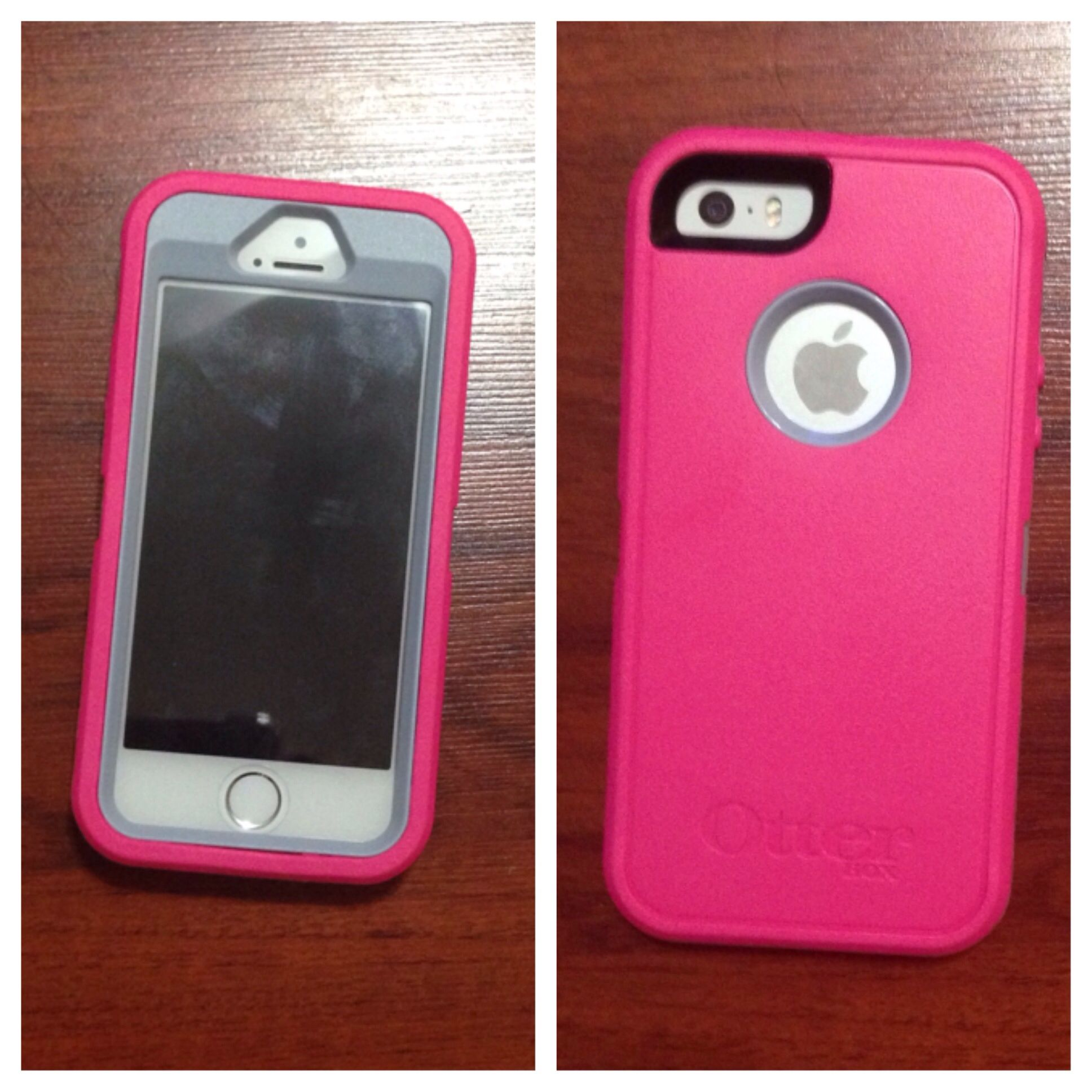 otter box iphone 5s my iphone 5 5s pink and gray otterbox defender 1455