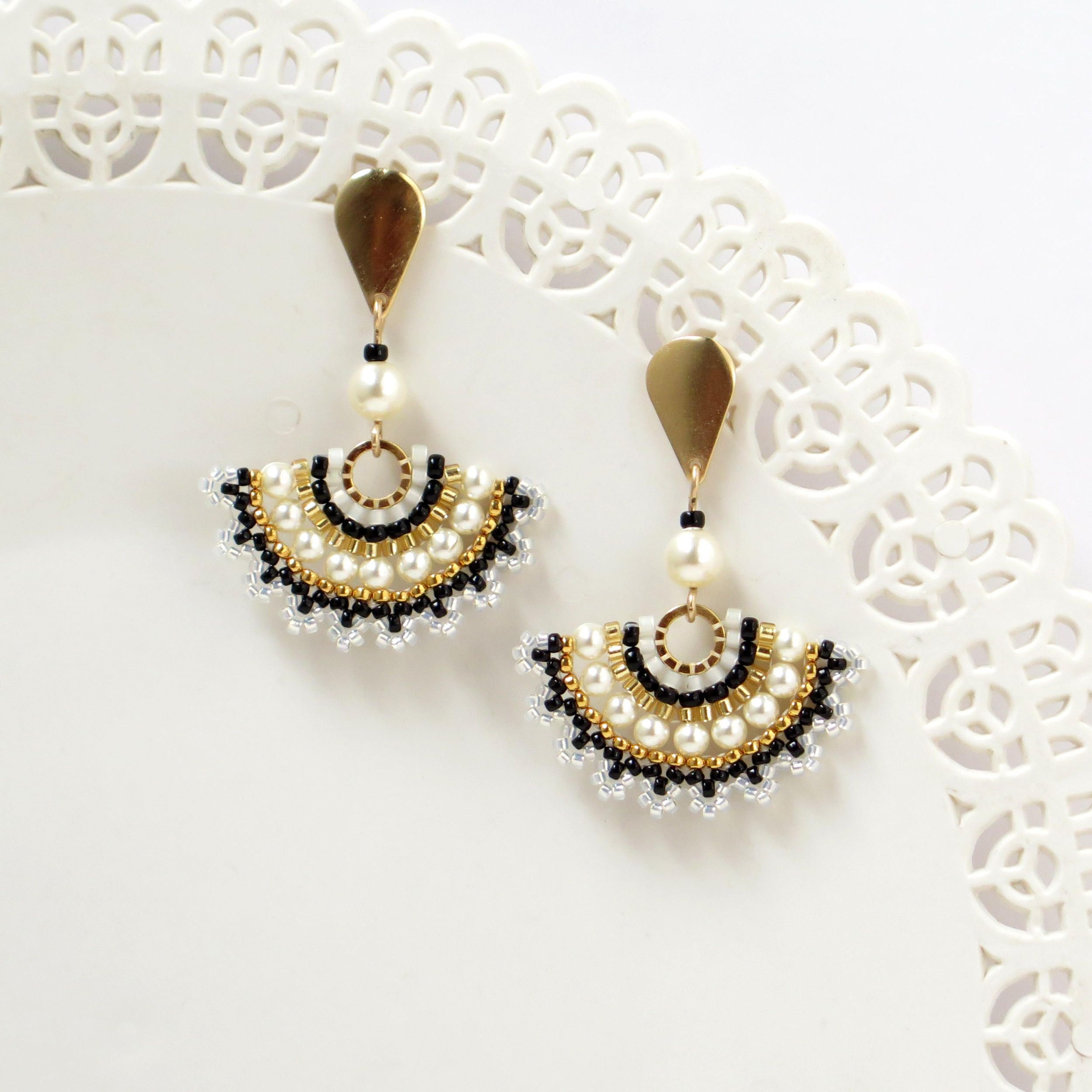 alinas with white alina s teardrop earrings silver accents beaded stud