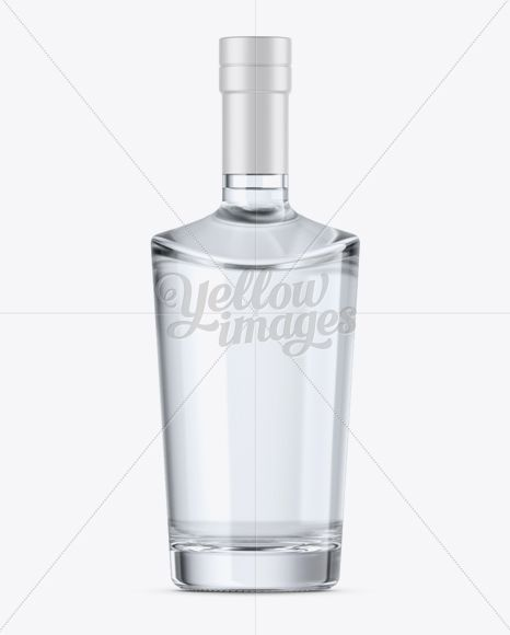 Download Clear Glass Vodka Bottle Mockup Front View In Bottle Mockups On Yellow Images Object Mockups Vodka Bottle Bottle Mockup Vodka PSD Mockup Templates