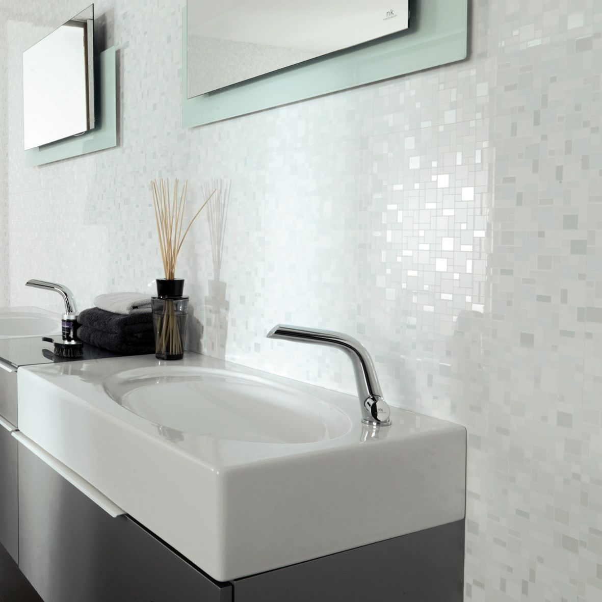 Porcelanosa Ice White Squares - LOVE this tile! But can\'t find it in ...