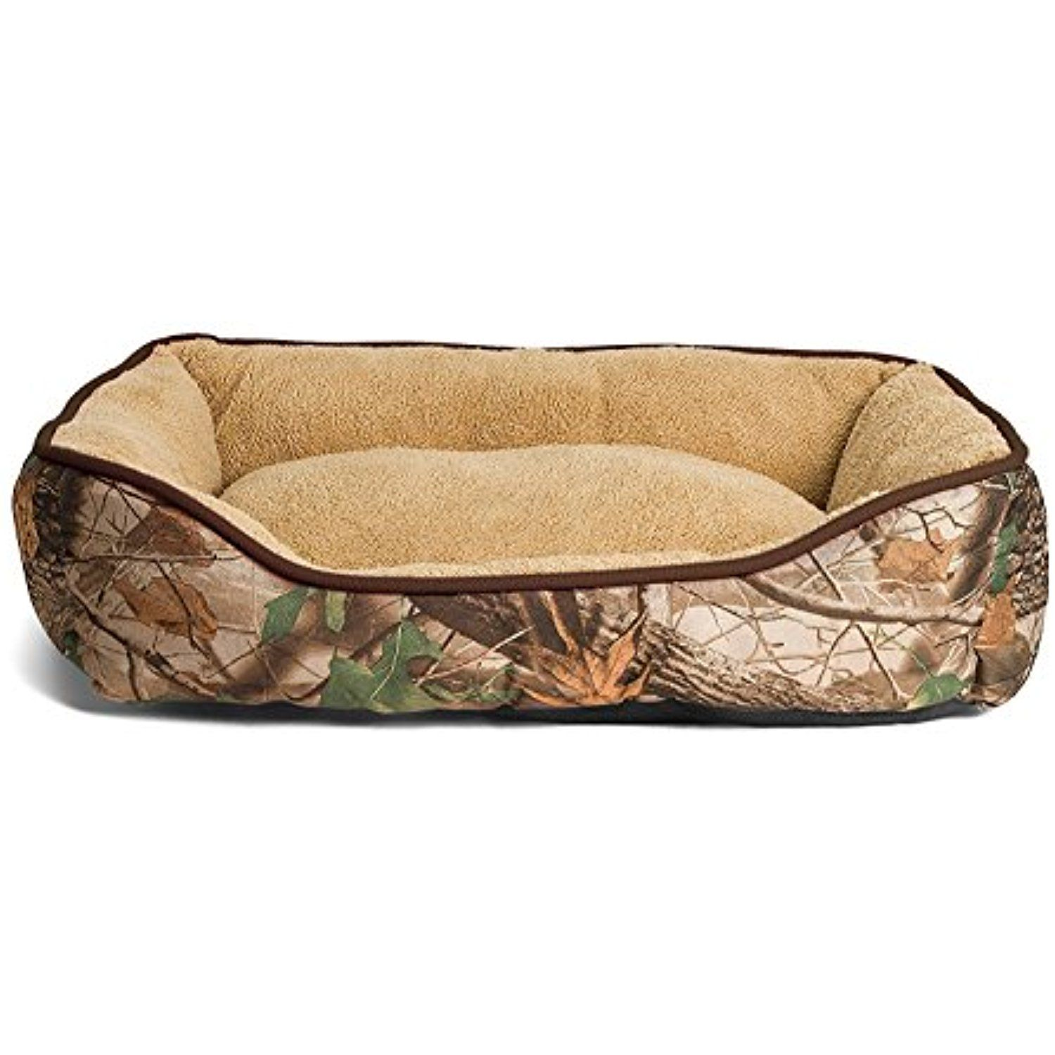 Camouflage Dog Bed — Extra Fluffy, Ecofriendly