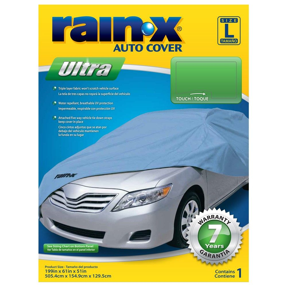 Rain X Ultra Series Large Car Cover Blue Car Covers Ultra Series Windshield Cover